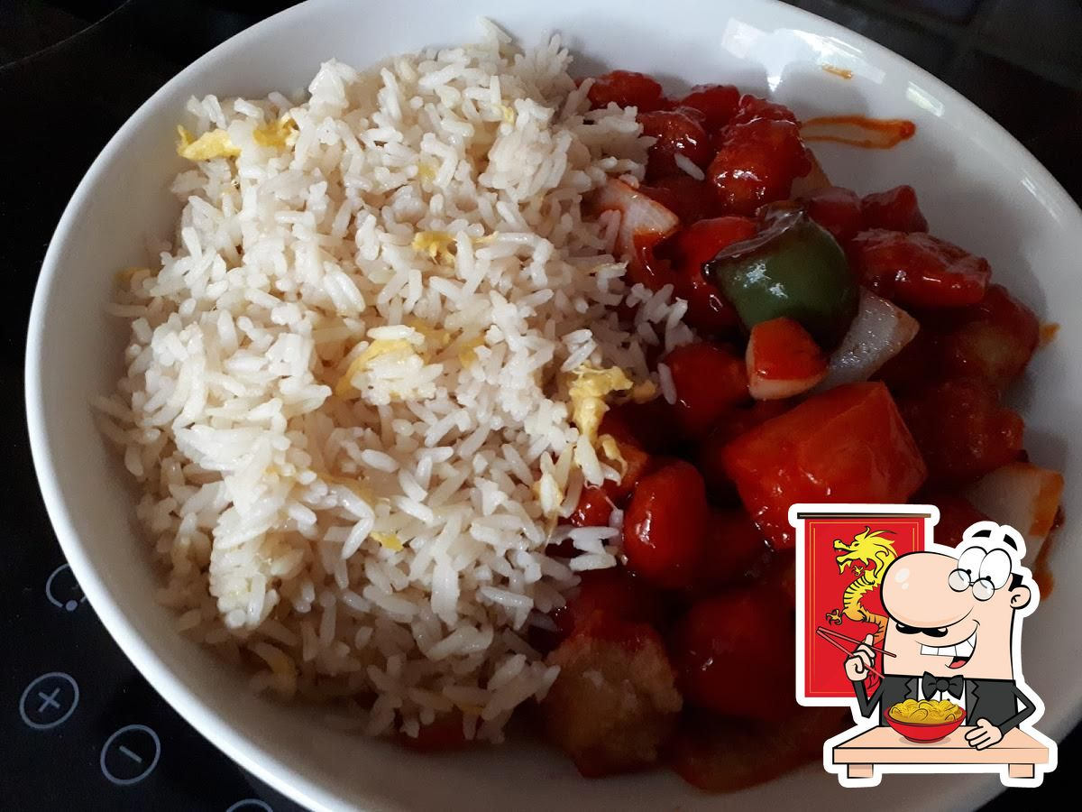 Food at Oriental Villa
