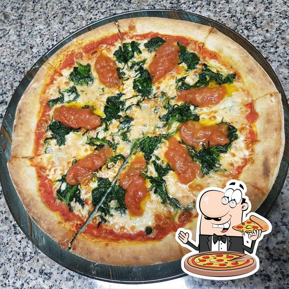 Pick pizza at Sheqer Pikant