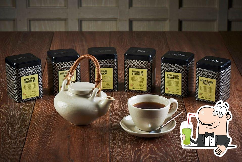 Siam Tea Room offers a range of drinks