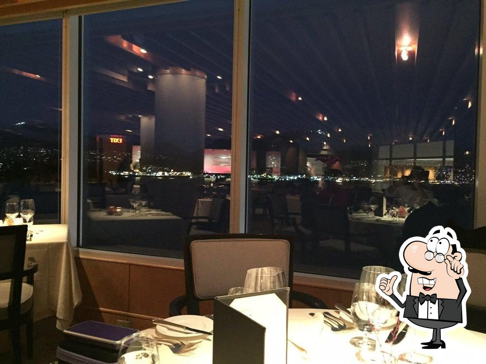 Check out how Five Sails Restaurant looks inside