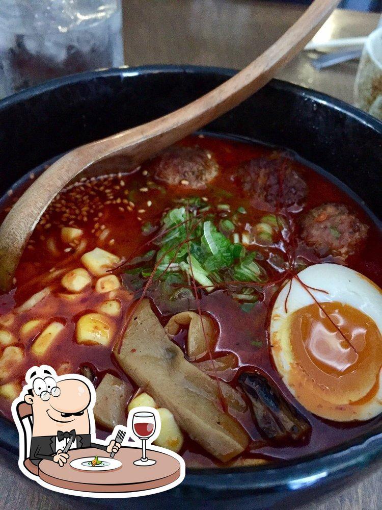 Comida en Gorō Ramen