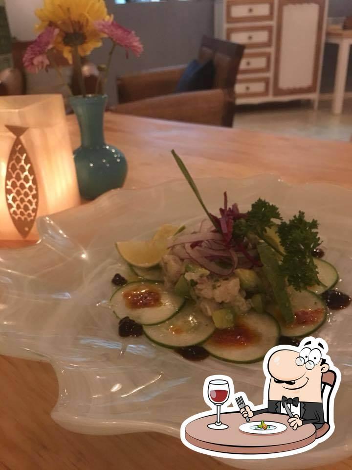 Platos en Luma Taverna Del Mar - Mediterranean | Seafood | Fusion | Italian Restaurant Playa del Carmen
