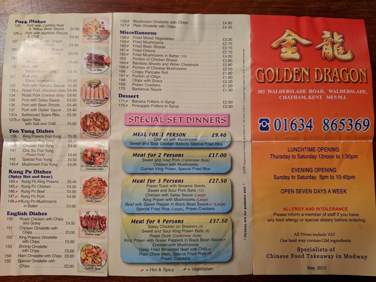 Golden dragon chinese walderslade village parabolin alpha pharma price in india