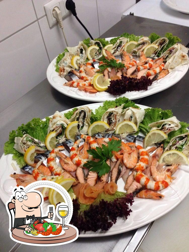 Taste the flavours of the sea at Bier-Schmiede