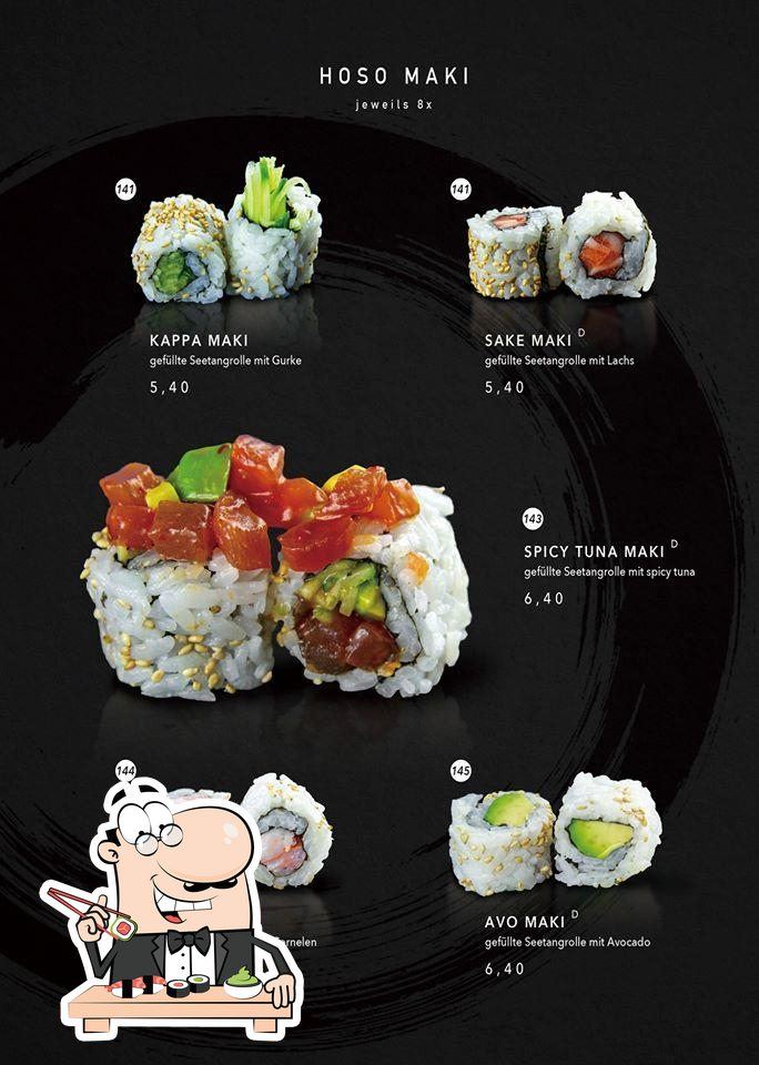 Суши - это популярное блюдо из Японии