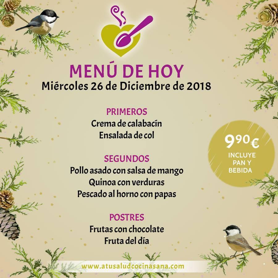 Прочитайте информацию о A Tu Salud cocina sana