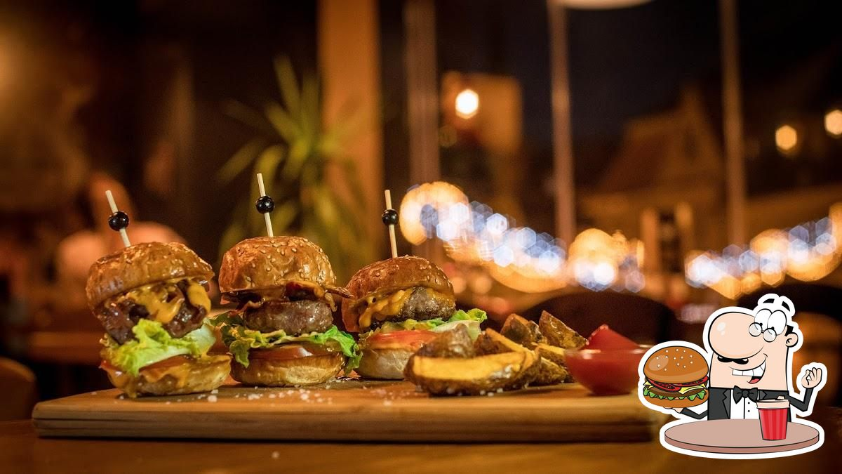 Treat yourself to a burger at All Saints