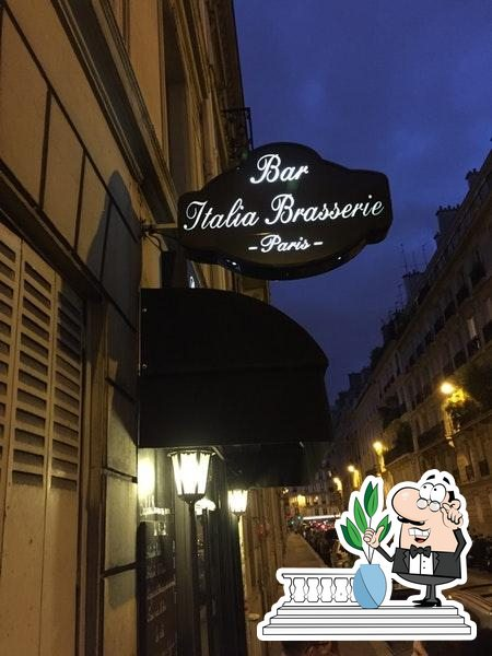 Внешнее оформление Bar Italia Brasserie