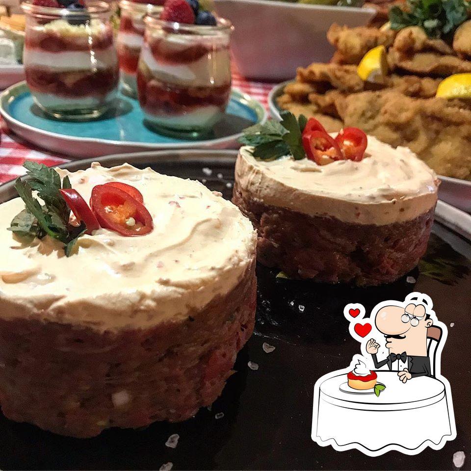 Don't forget to order a dessert at Egon Café