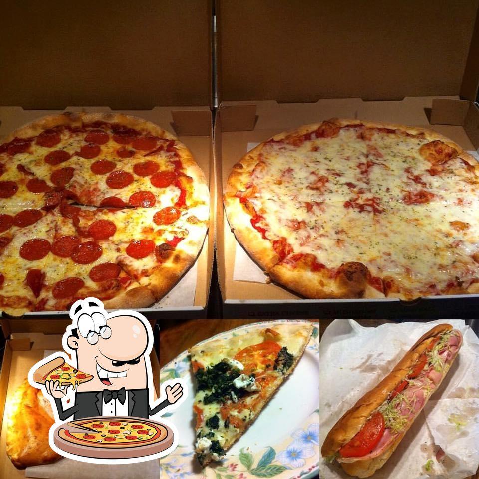 Отведайте пиццу в Graziano's