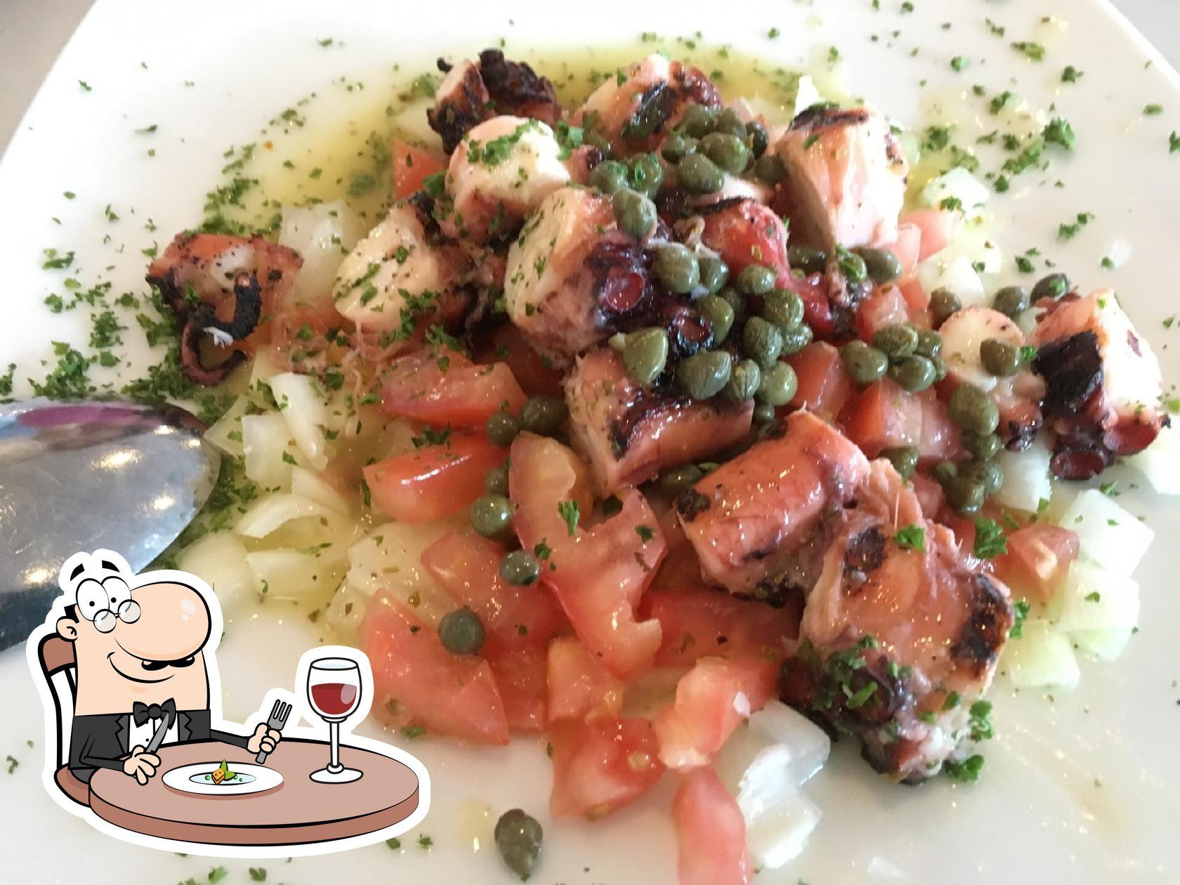 Meals at Greek Taverna Table 2201