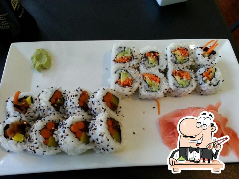 Treat yourself to sushi at Han the Sushi Man