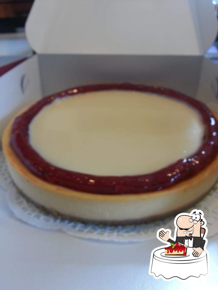 Don't forget to try out a dessert at Maria's Cheesecakes