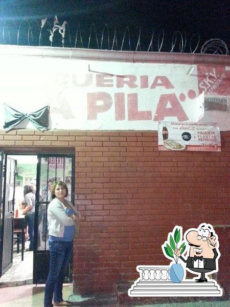 The exterior of La Pila