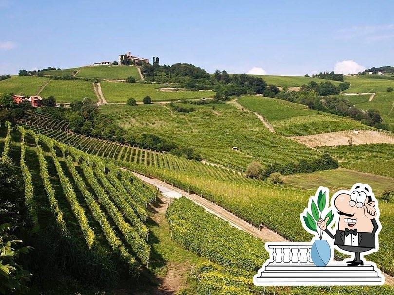 Наслаждайтесь свежим воздухом и видом, открывающемся из Вилла Тоскана Ресторан