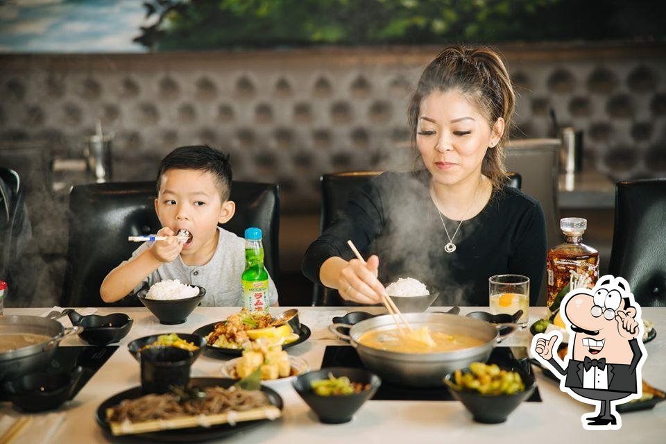 Check out how Yoshi Shabu Shabu looks inside