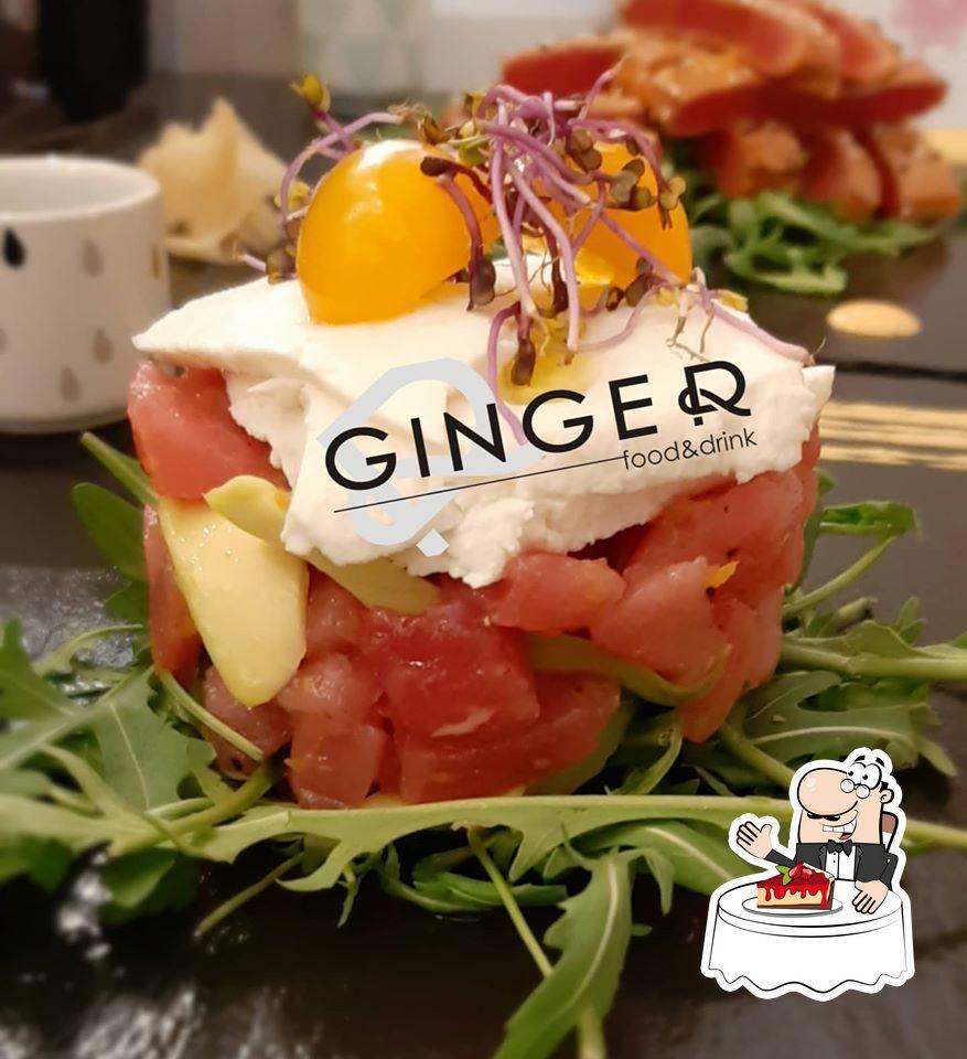 Non scordarti di provare un dessert al ristorante Ginger food & drink