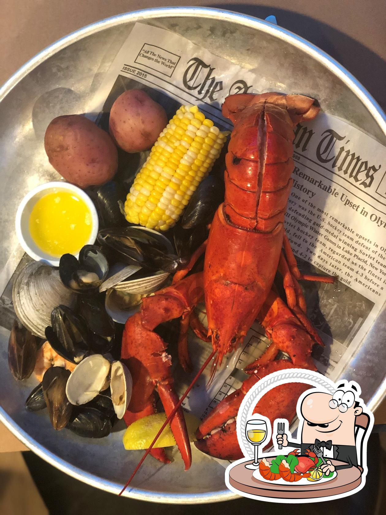 Order seafood at Nantuckets
