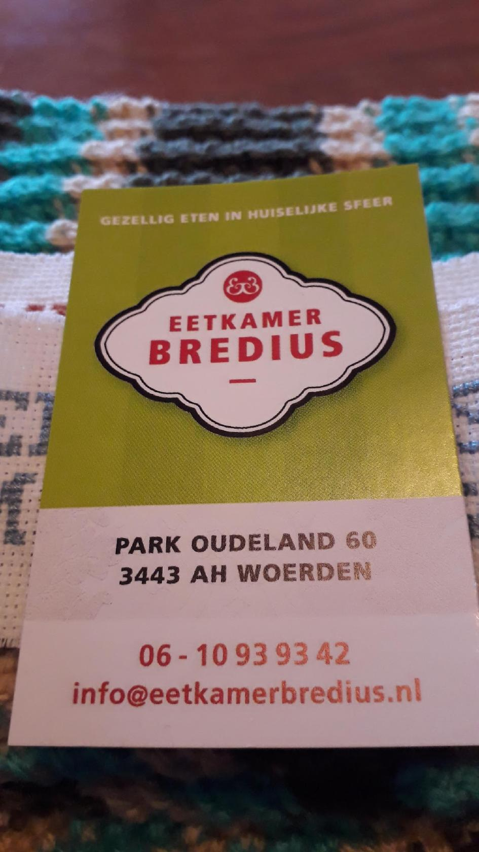 Eetkamer Bredius Woerden Restaurant Reviews