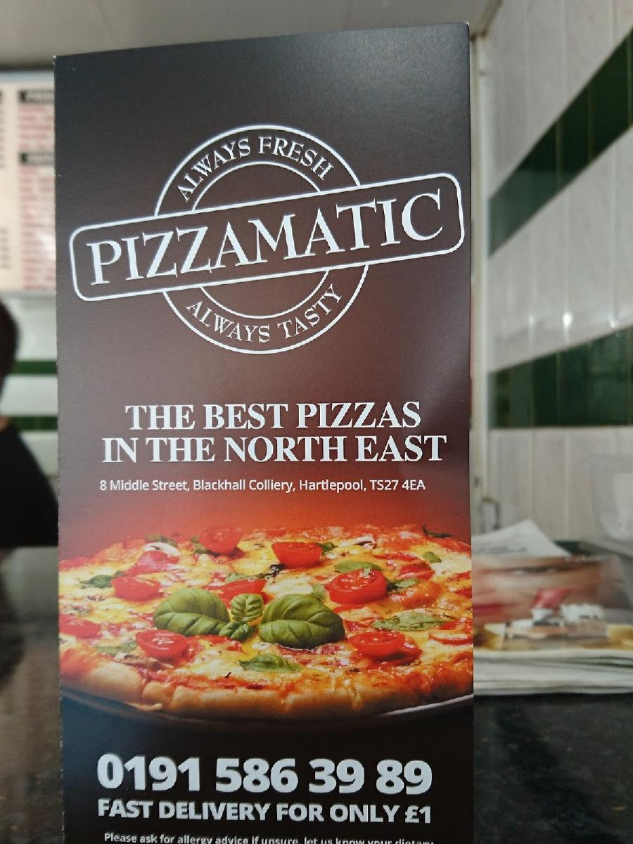 Pizzamatic In Hartlepool Restaurant Reviews