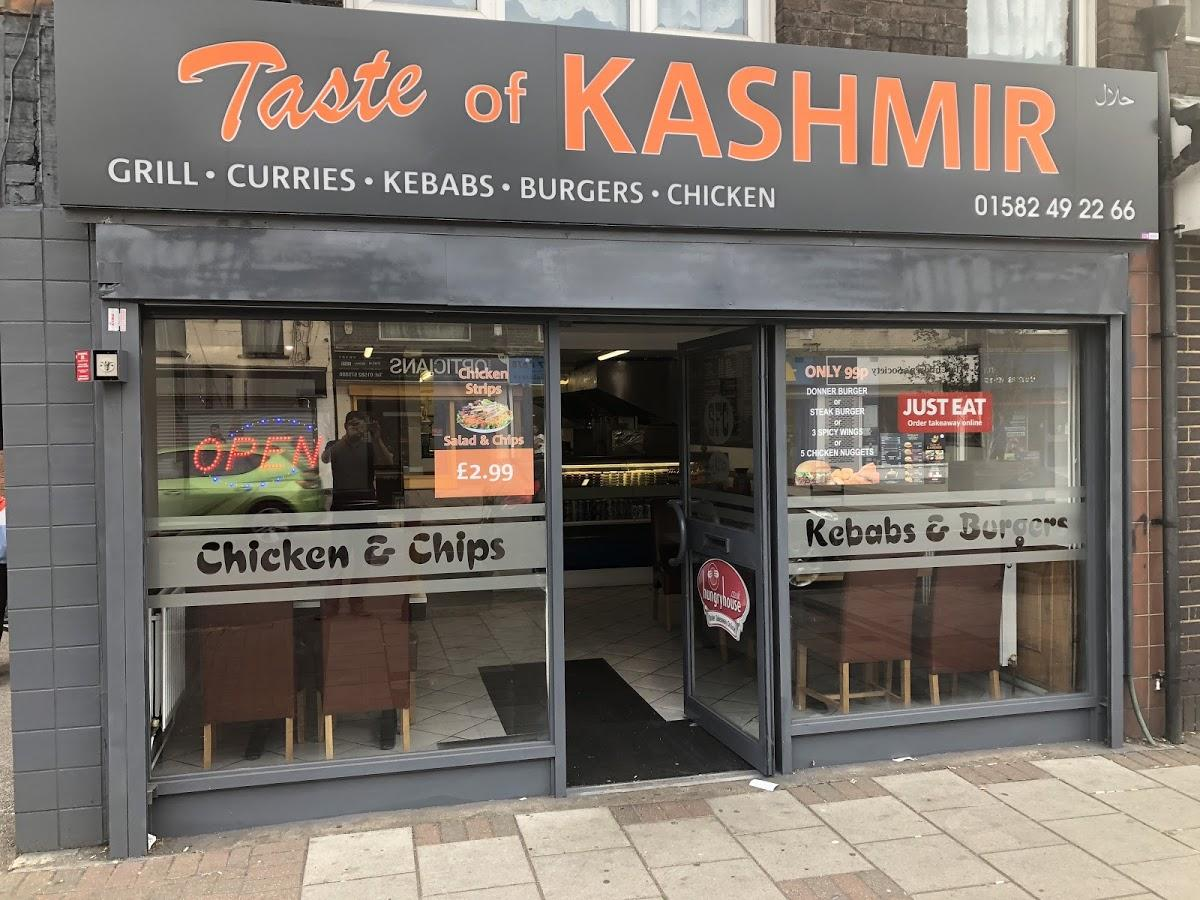 Taste Of Kashmir In Luton Restaurant Menu And Reviews