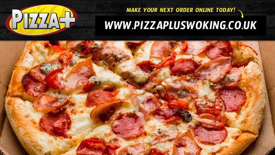 Pizza Plus In Woking Restaurant Menu And Reviews