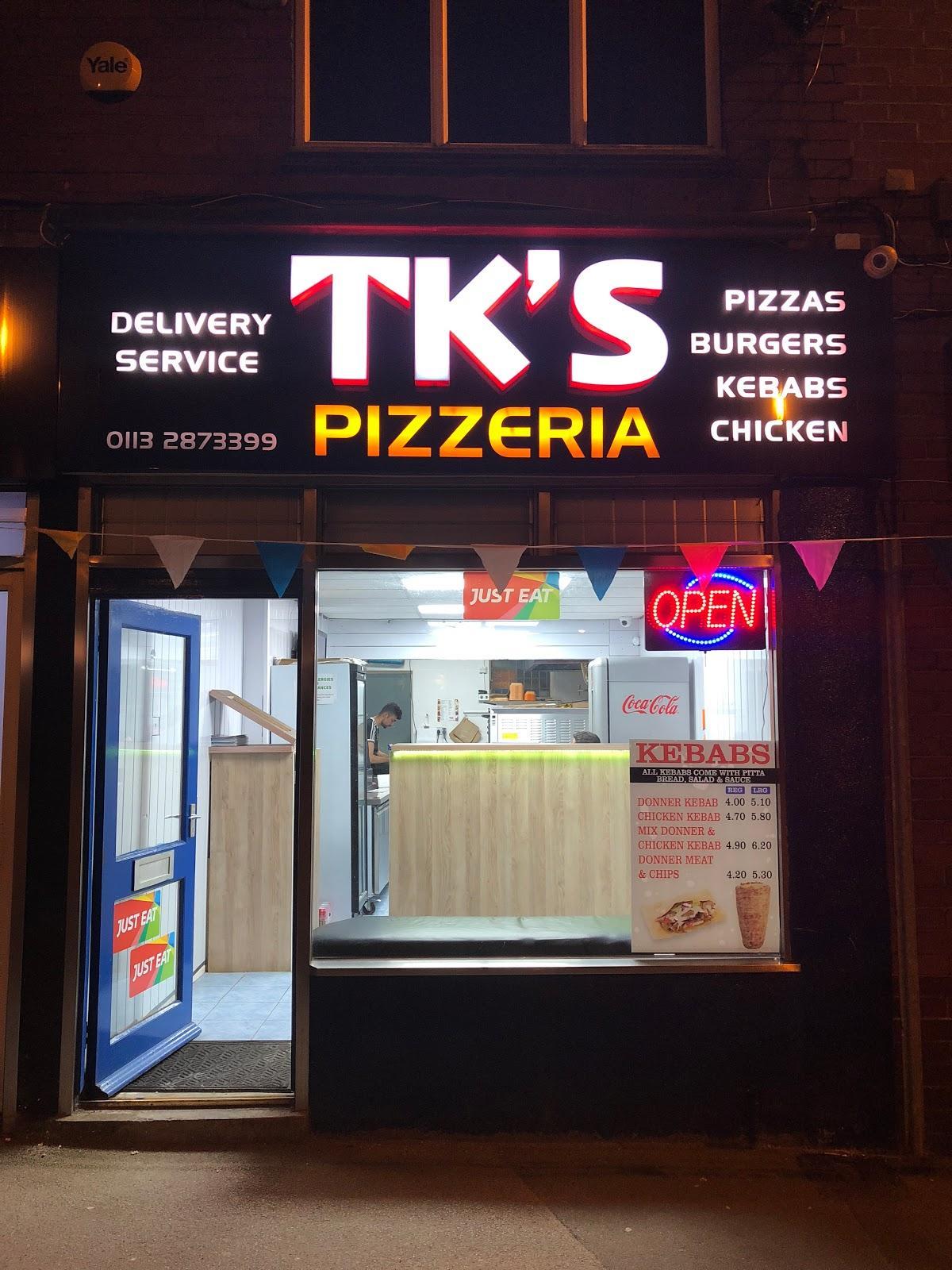 Tks Pizzeria In Leeds Restaurant Menu And Reviews