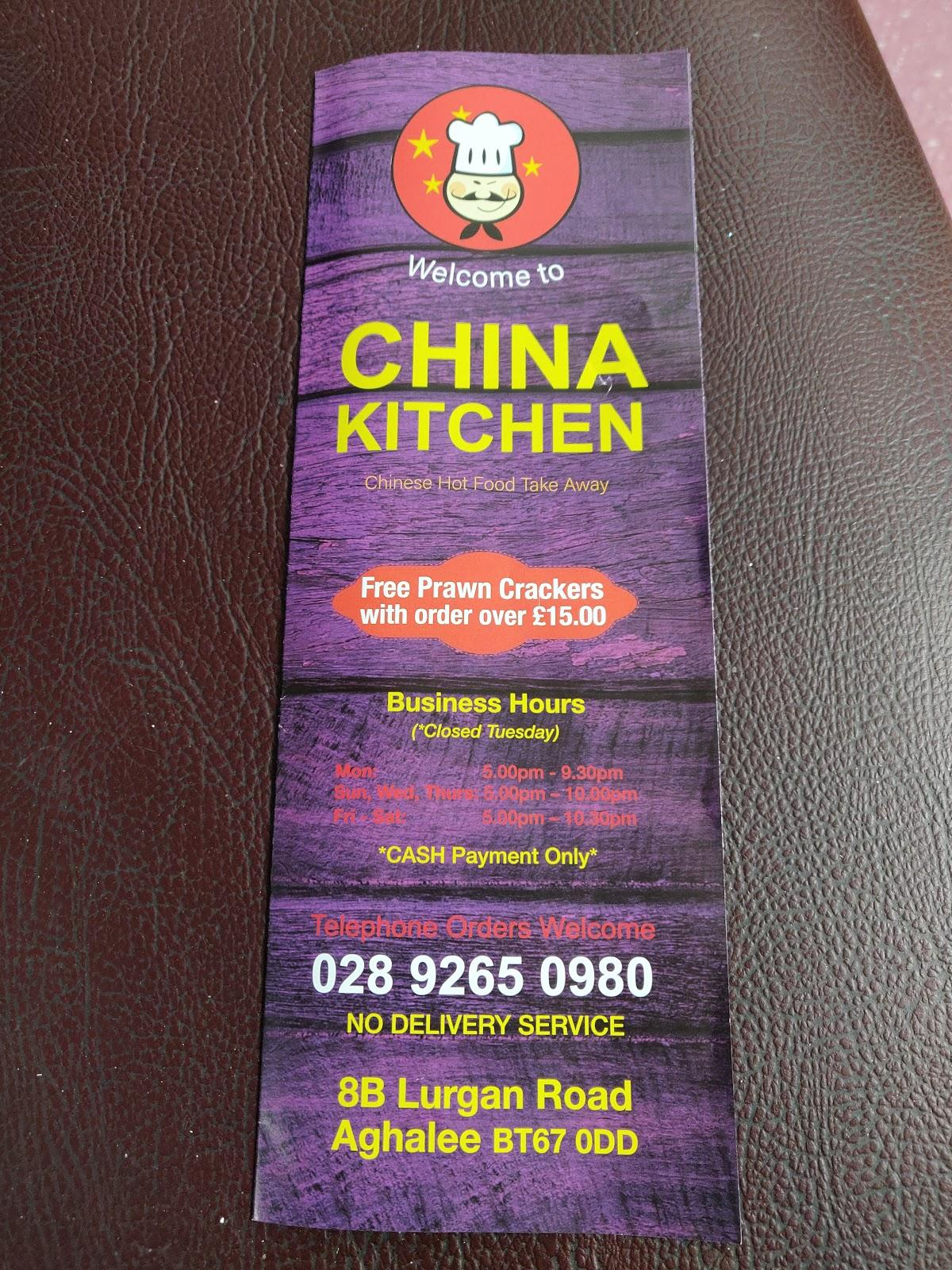 China Kitchen in Aghalee - Restaurant reviews
