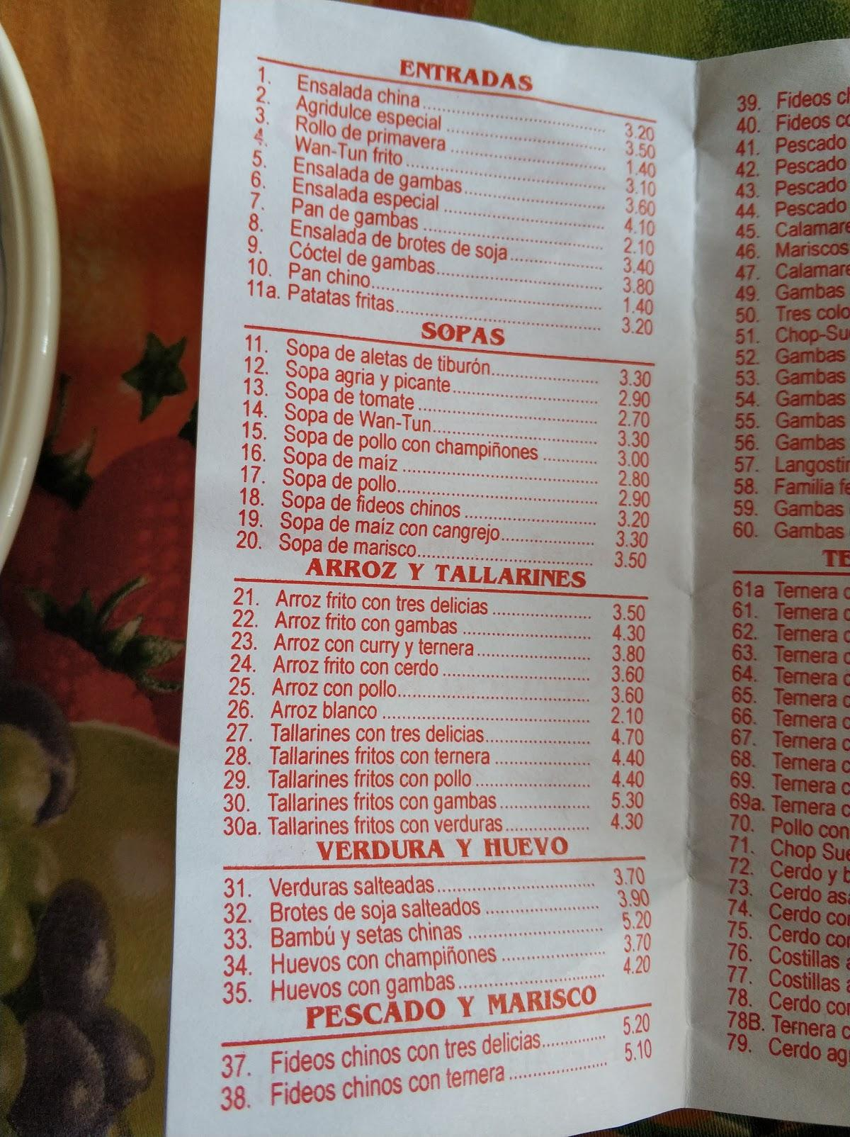 Restaurante Casa Bao Algeciras Opiniones Del Restaurante