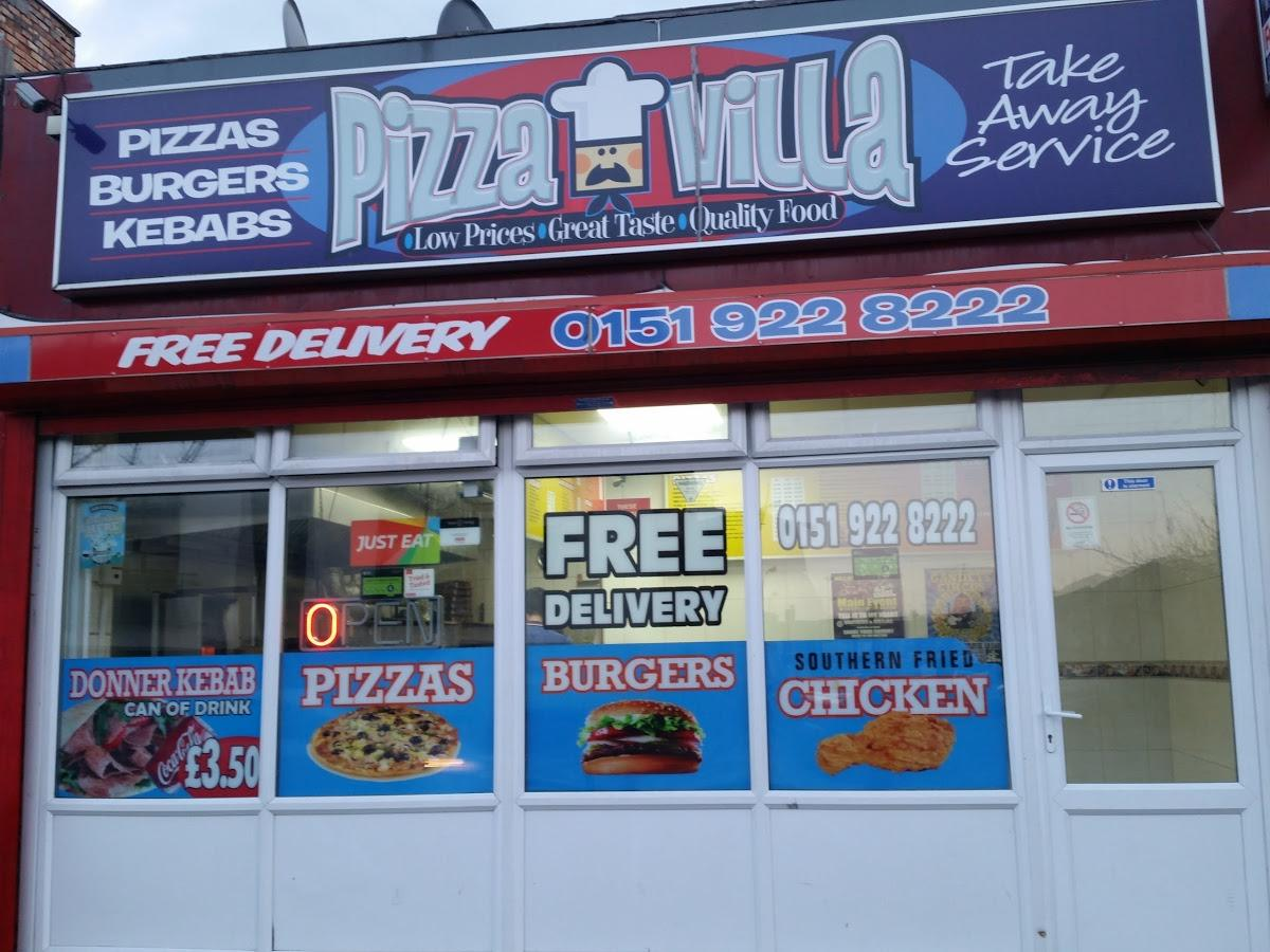 Pizza Villa 449 Stanley Rd In Bootle Restaurant Reviews