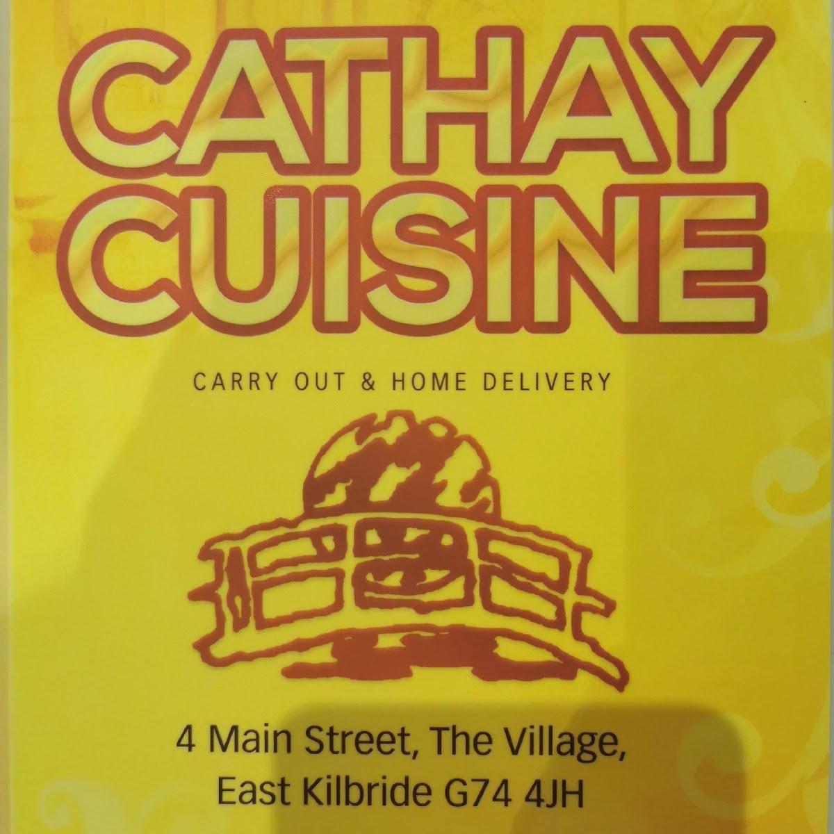 Cathay Cuisine 4 Main St In East Kilbride Restaurant Menu And