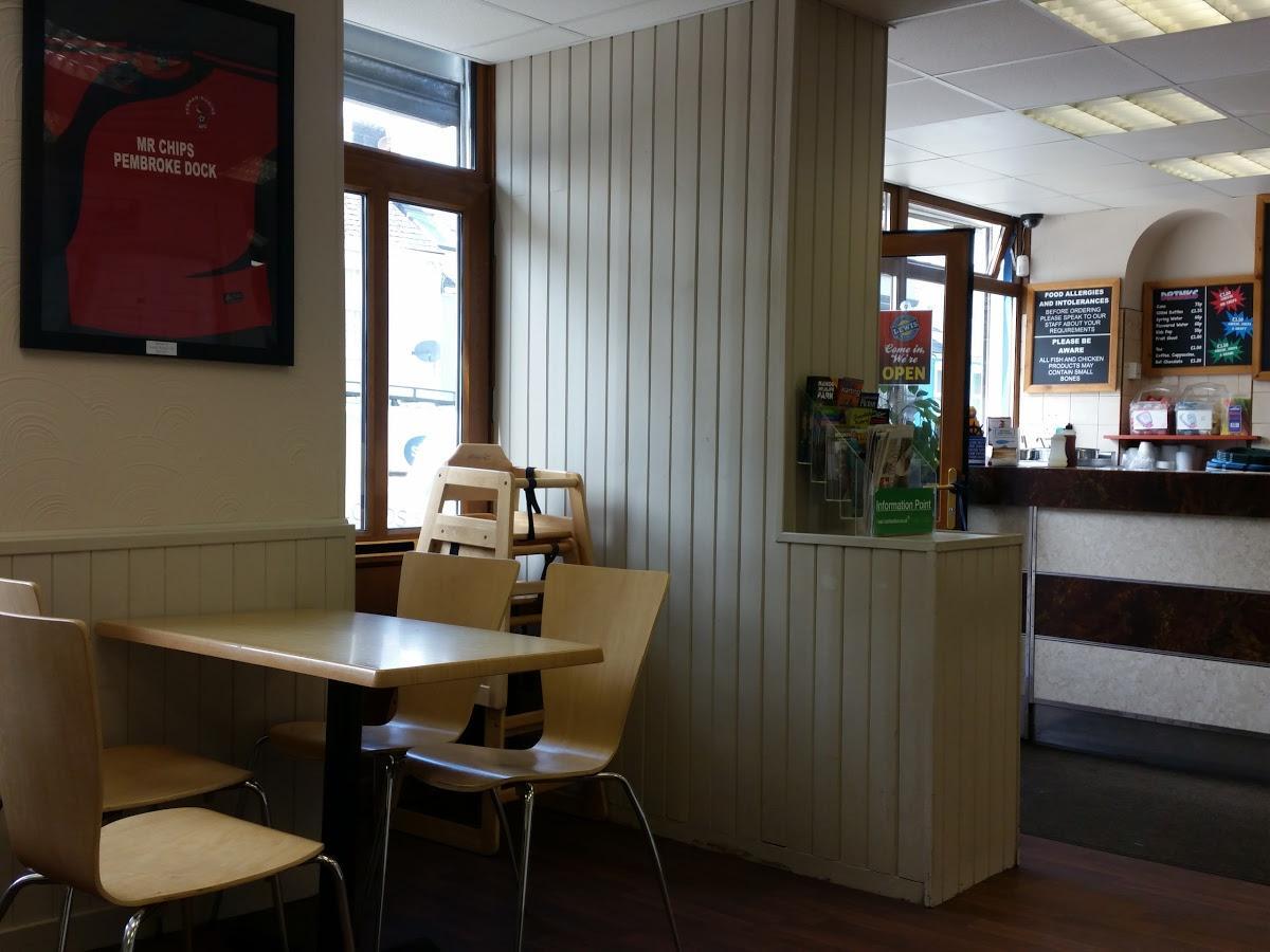 Mr Chips Ltd In Pembroke Dock Restaurant Menu