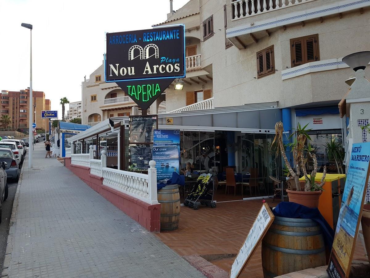 Nou Arcos Restaurant Los Arenales Del Sol Beach Los Arenales Del Sol Opiniones Del Restaurante