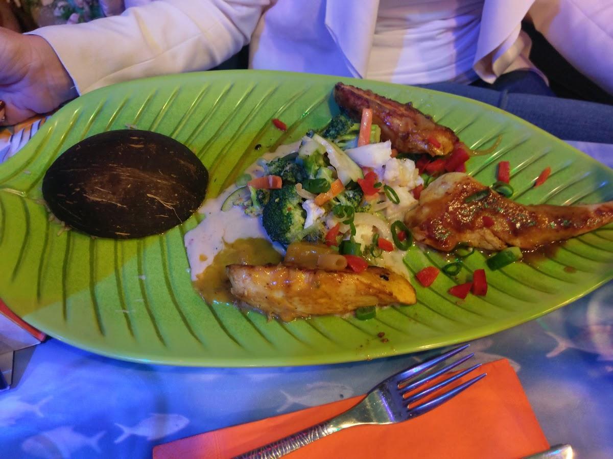 Caribbean Restaurant Roatan UG Foto