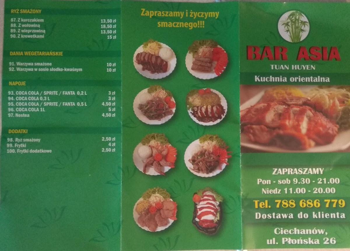 Bar Asia Tuan Huyen Ciechanow Restaurant Reviews