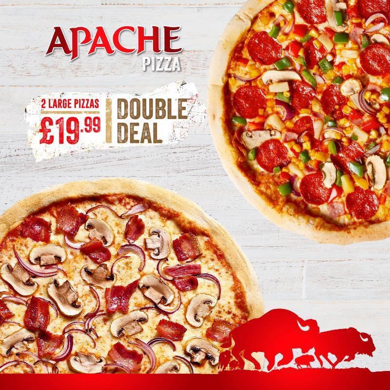 Apache Pizza Derry In Londonderry Restaurant Menu And Reviews