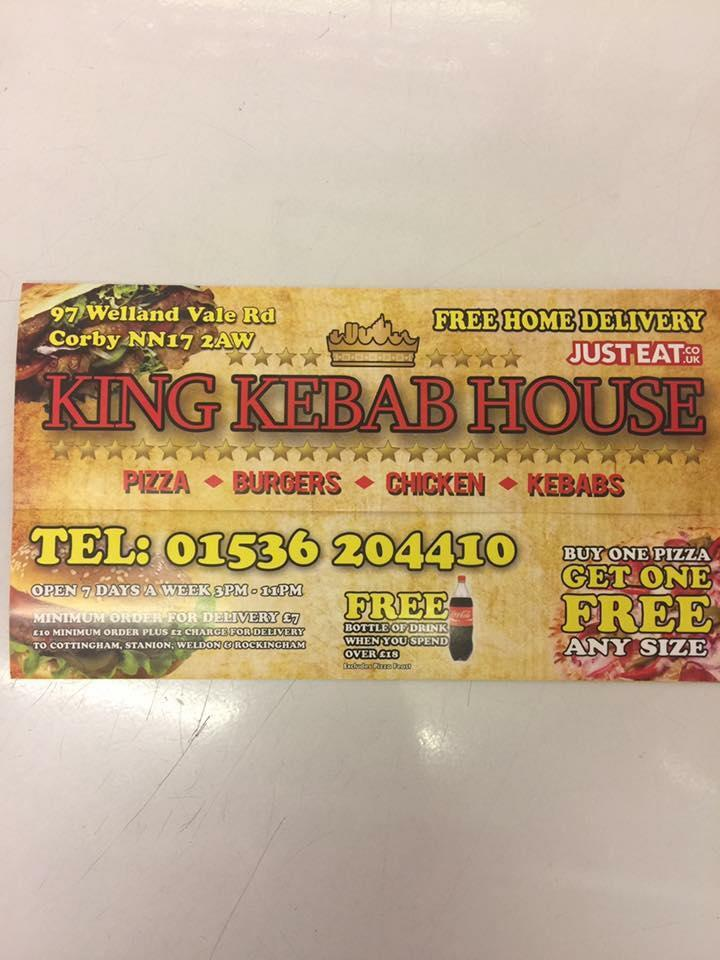 King Kebab House In Corby Restaurant Menu And Reviews