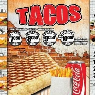 Snack Tacos Le Crack Restaurant St Laurent Du Var Restaurant