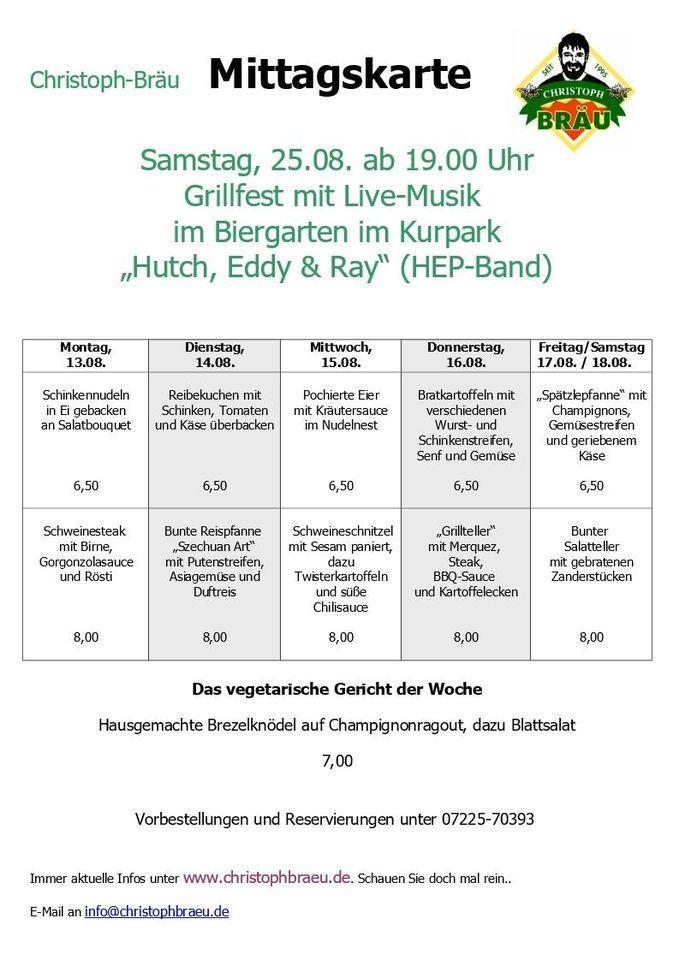 Christophbrau Restaurant Gaggenau Alois Degler Strasse 3 Restaurant Reviews