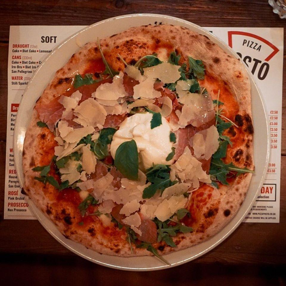 Pizza Posto In Edinburgh Restaurant Menu And Reviews