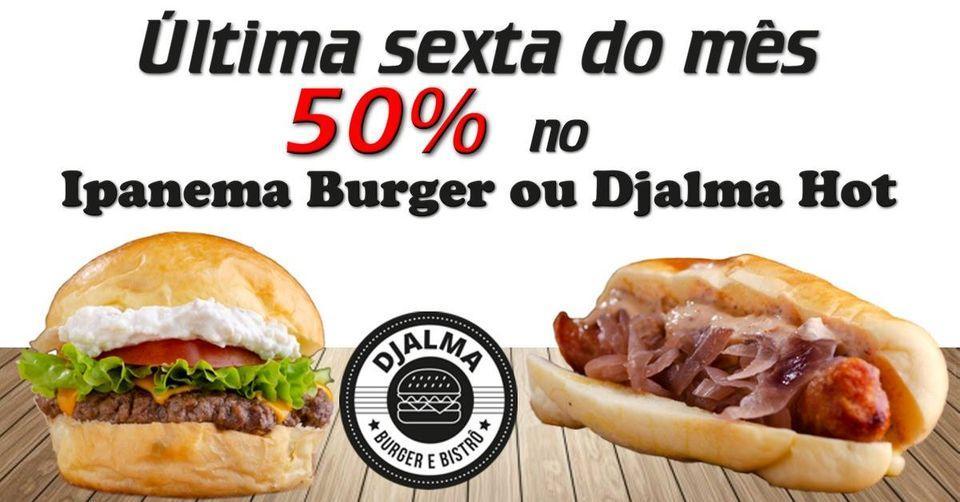 Djalma Burger Bistrô foto