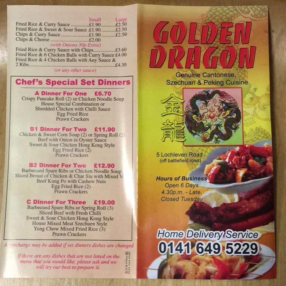 Golden dragon lochleven road steroid kids