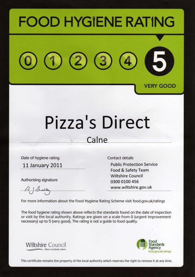 Pizza Direct In Calne Restaurant Menu And Reviews