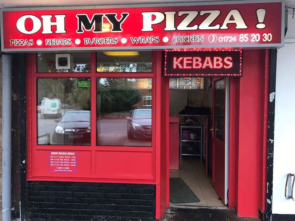Oh My Pizza In Scunthorpe Restaurant Menu And Reviews