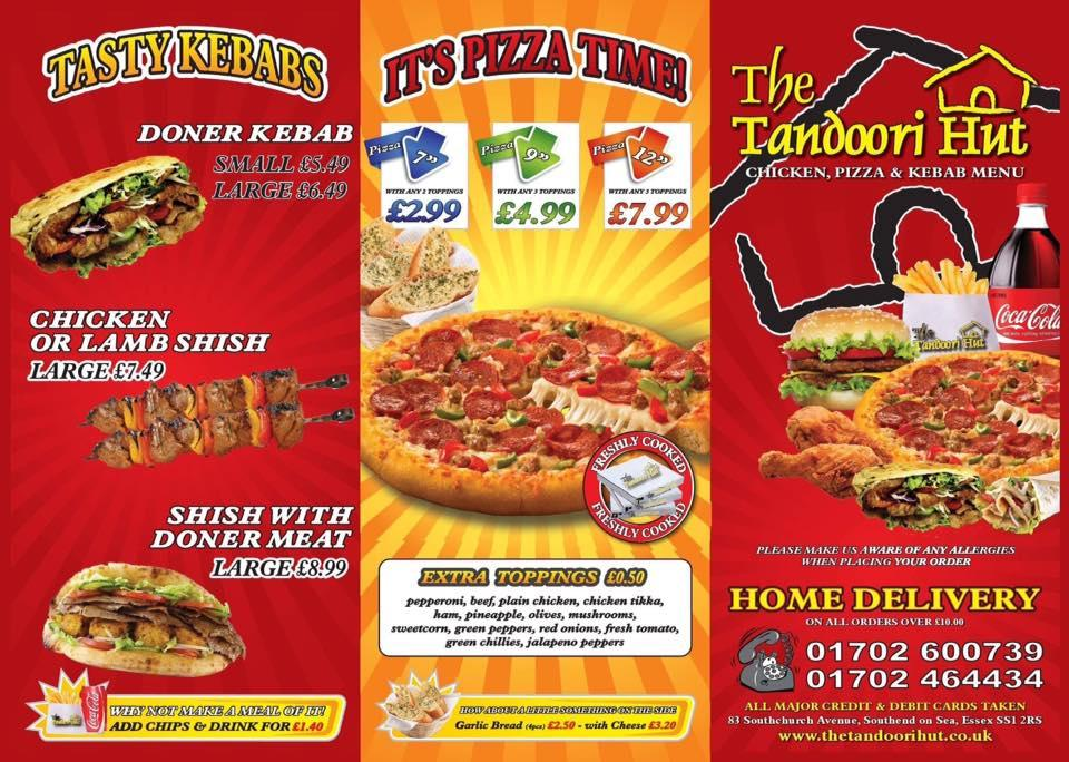 Tandoori Hut In Southend On Sea Restaurant Menu And Reviews