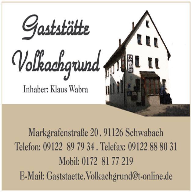 Gaststatte Volkachgrund Restaurant Schwabach