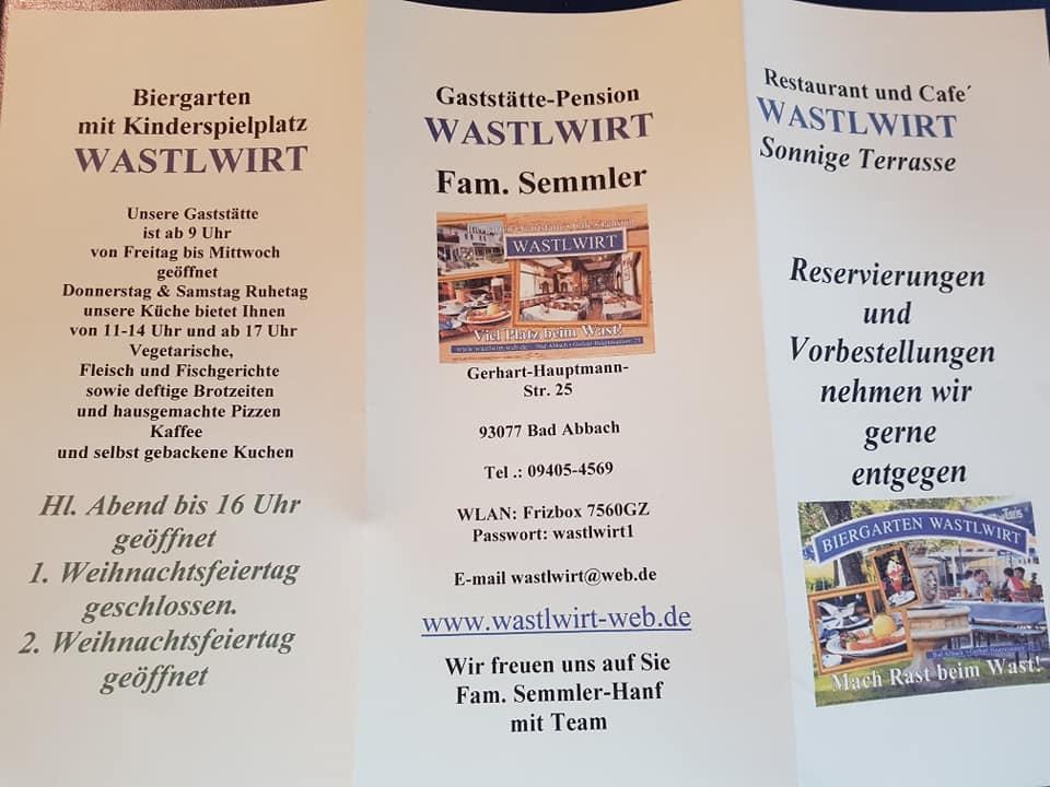 Wastlwirt Bad Abbach Restaurant Reviews