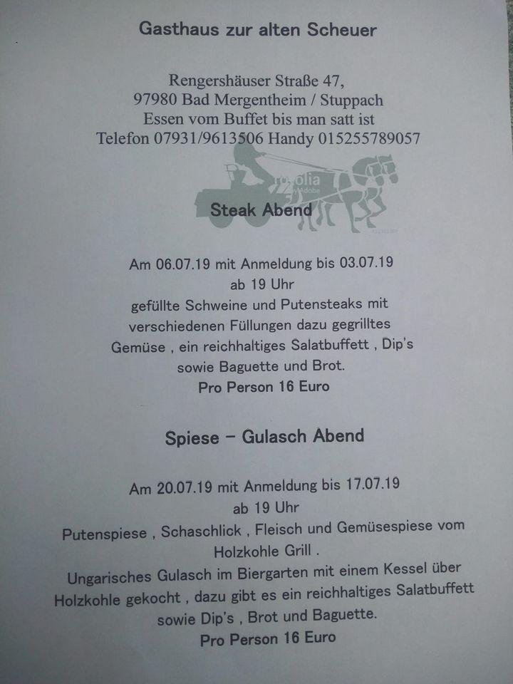 Biergarten Zur Alten Scheuer Restaurant Bad Mergentheim Restaurant Reviews