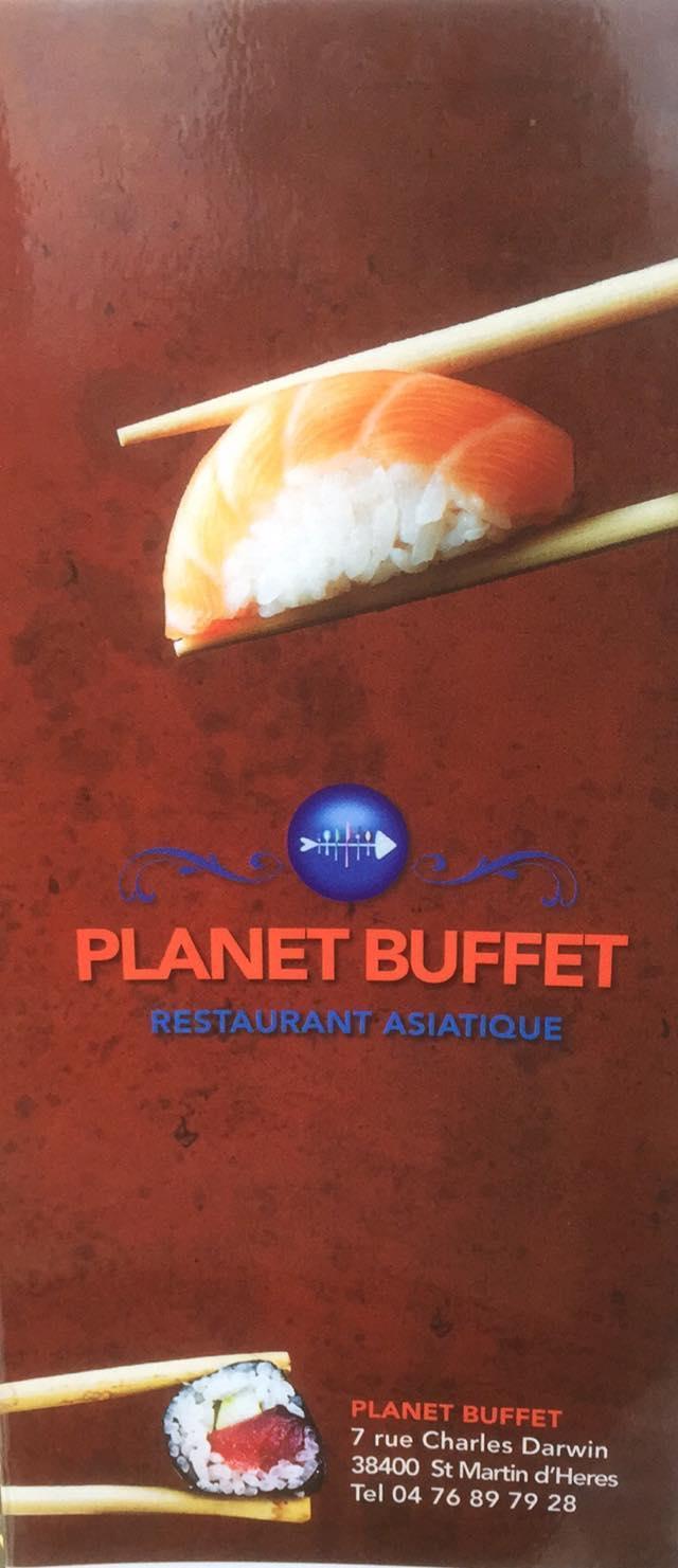 Planet Buffet Restaurant Saint Martin D Heres Restaurant Menu