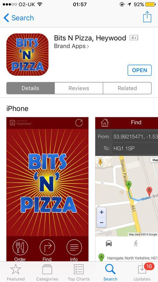 Bits N Pizza 33 Bridge Street In Heywood Restaurant Reviews